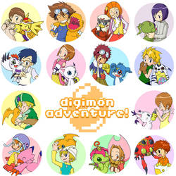 Digimon Adventue by Alfred-is-dead