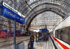 [Frankfurt am Main, Germany] Intercity Express by Vokabre