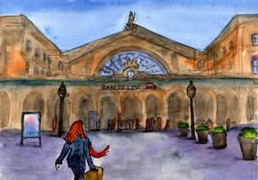 [Paris, France] Gare de l'Est by Vokabre