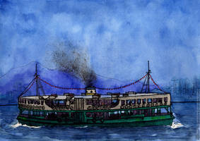 Hong Kong, Star Ferry by Vokabre