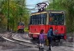 Omsk, Tramways