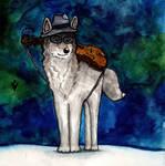 Winter Wolfie (December 2014) by Vokabre