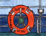 Eastern Sea. Onboard MS Eastern Dream