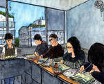 Yongin. Students