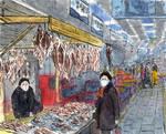 Busan. At Jagalchi Fish Market