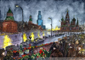 February 28 (Nemtsov Bridge) by Vokabre