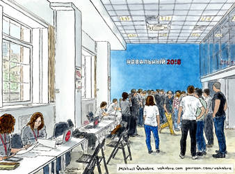 Navalny's Campaign Office (Ver.1) by Vokabre