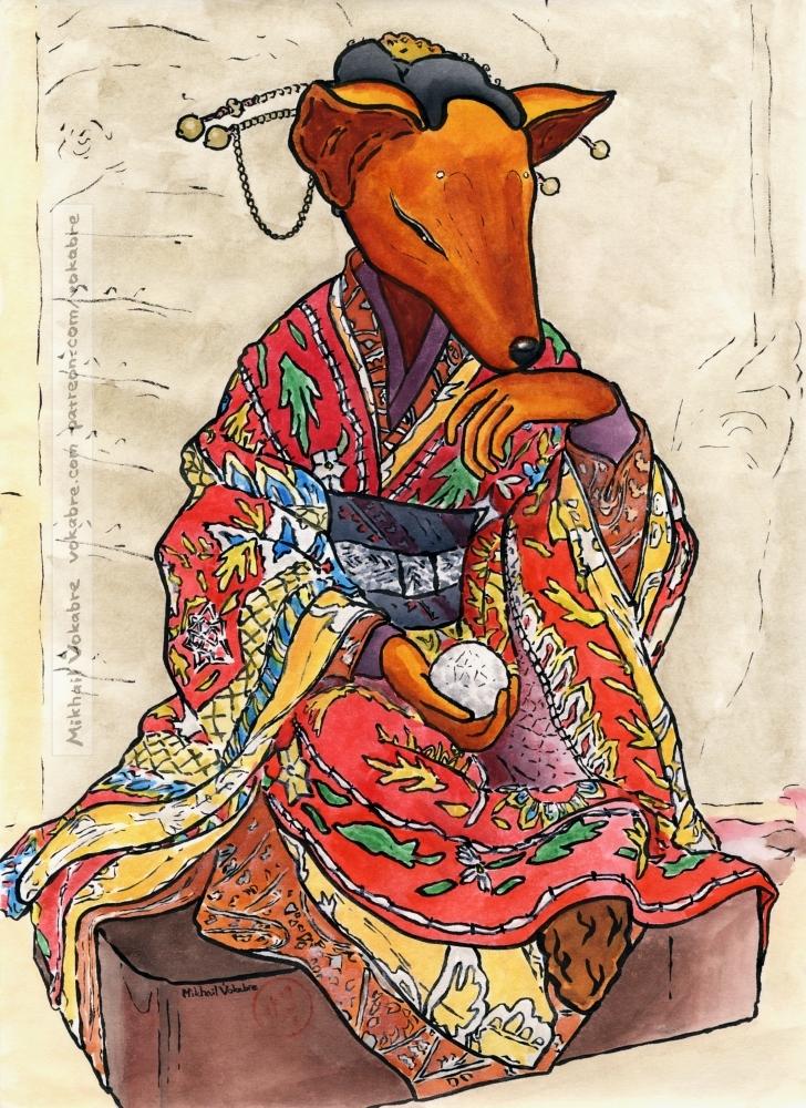 Kitsune by Vokabre