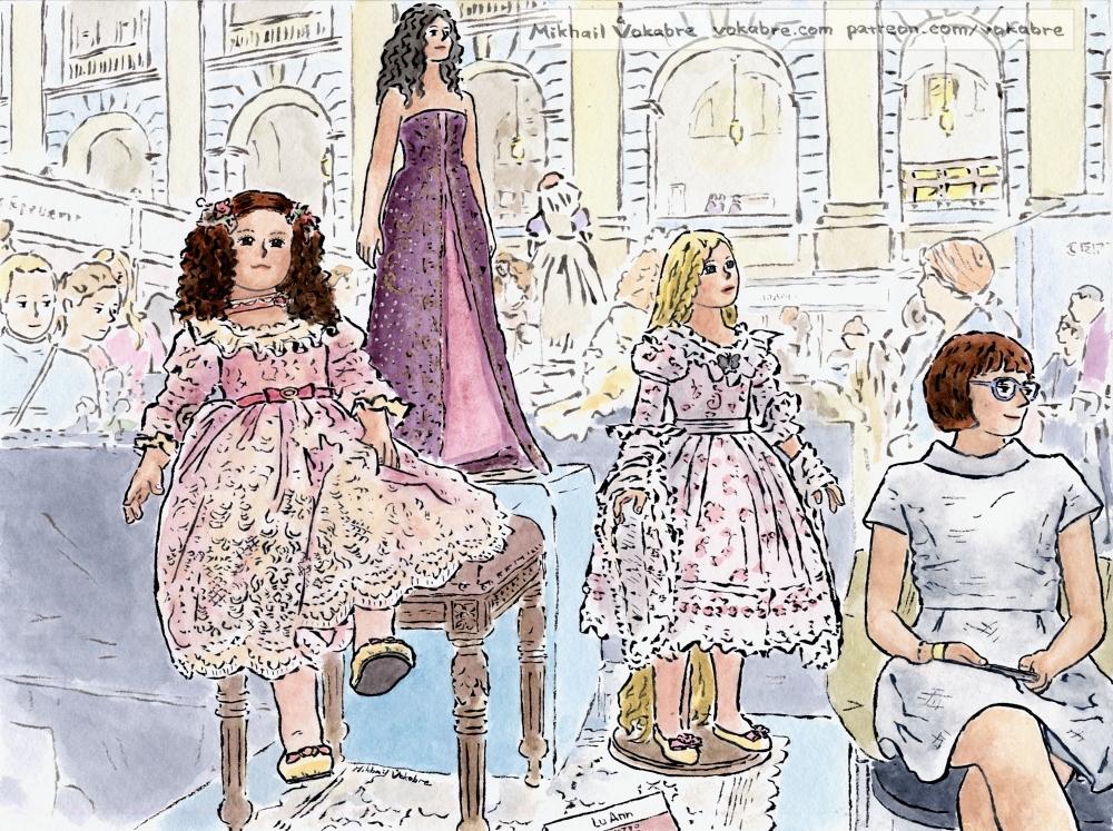 Mari, Anna, Ashley and Lu Ann by Vokabre