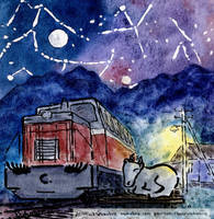 Sleeping motor coach by Vokabre