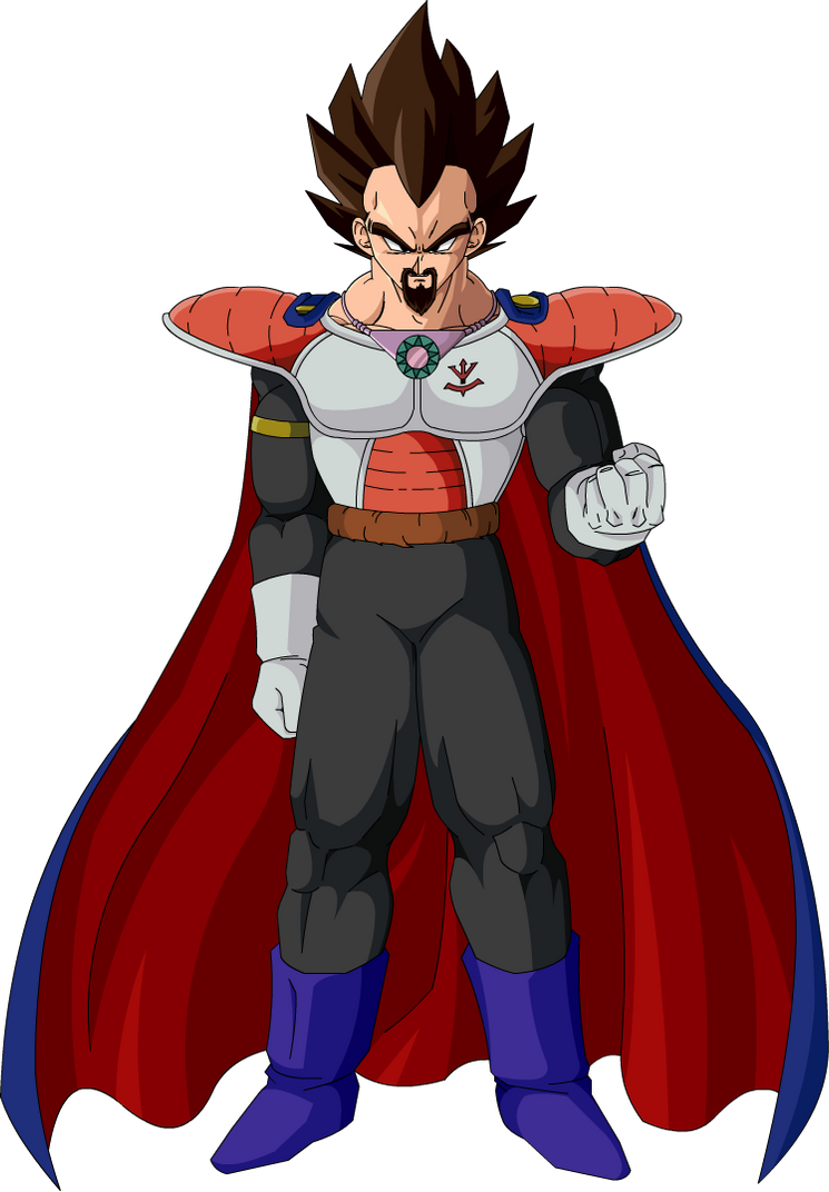 King Vegeta by Majin-Ryan on DeviantArt