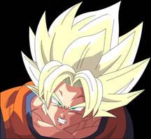 Goku Angry by Majin-Ryan