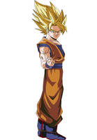 Goku - Budokai 2 Cover by Majin-Ryan