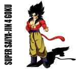 Super Saiya-jin 4 Goku