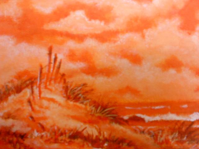 Orange Monochromatic By Newmoon45