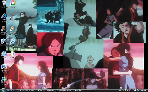 My Zutara Desktop Screenshot by happyzuko