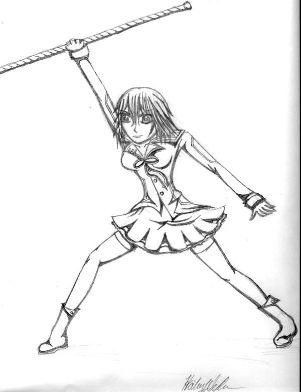 Yuuki Cross by happyzuko
