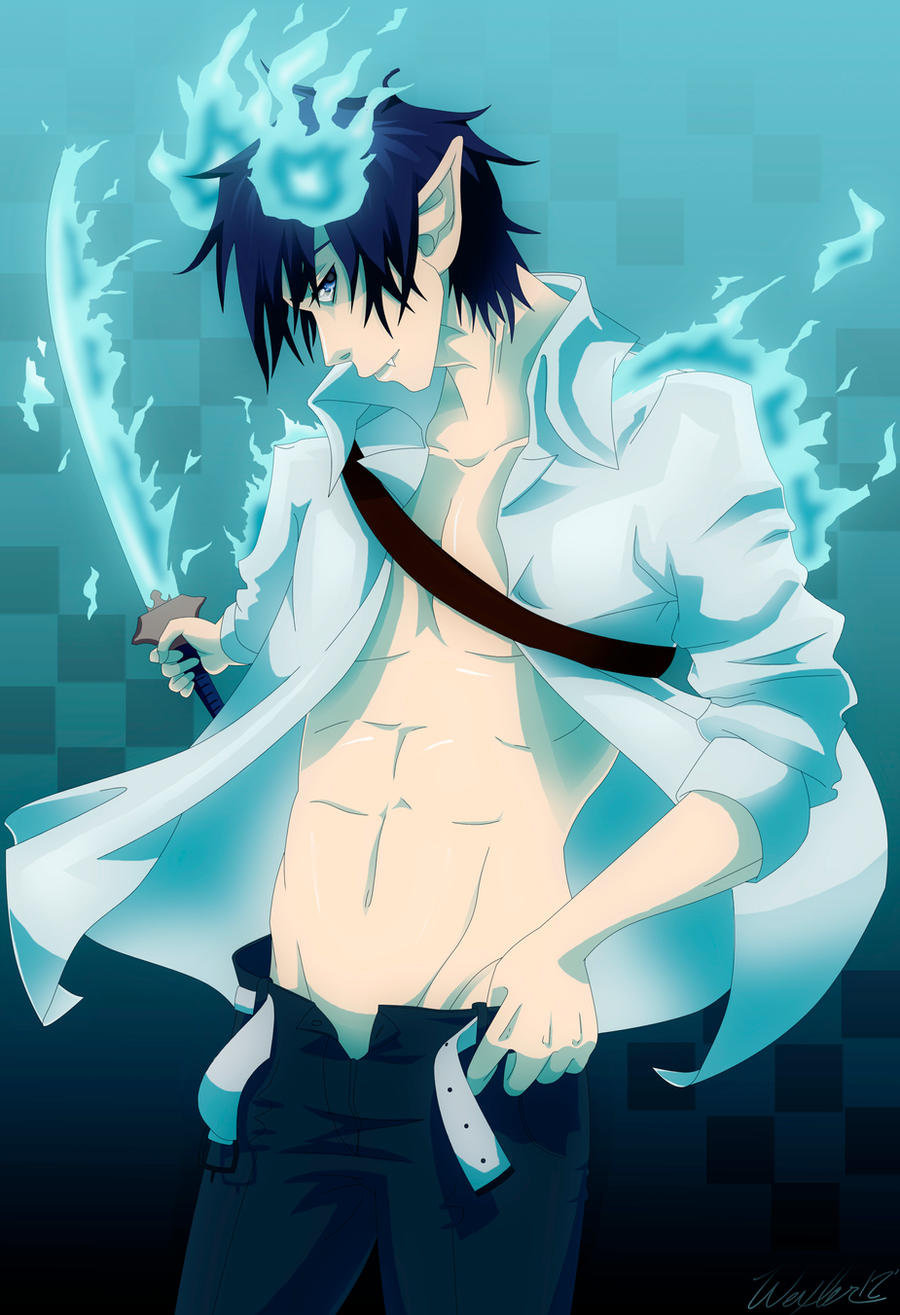 Rin Okumura by happyzuko