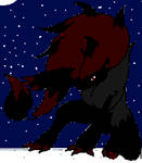 Shadow Zoroark in Winter