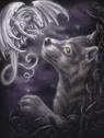 Wolf Dragon by shewolfzoroark