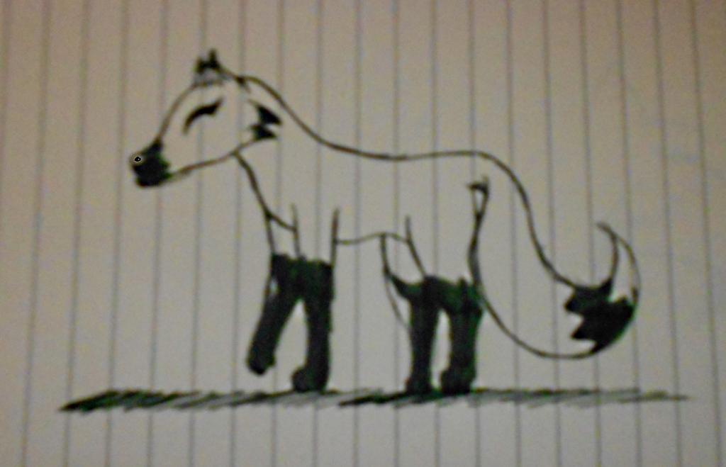 Moonsong the Fox by shewolfzoroark