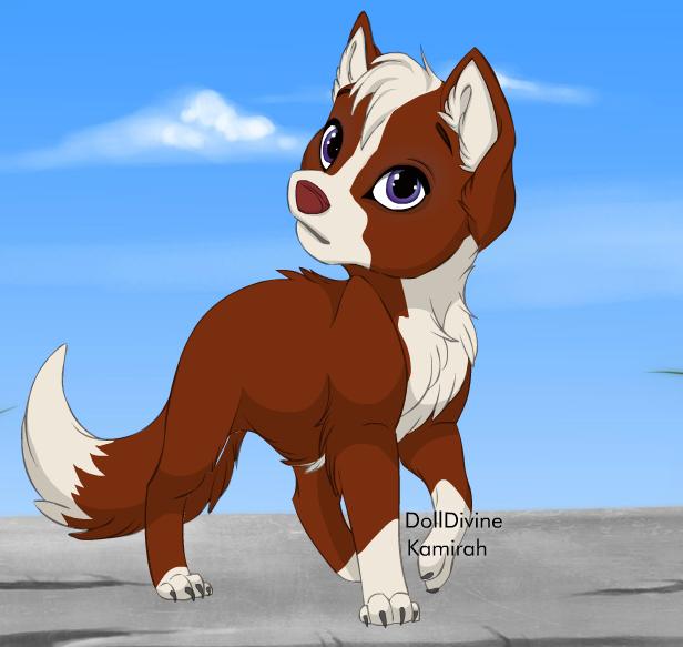 Skyfur by shewolfzoroark