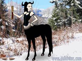 Centaur Loki by shewolfzoroark