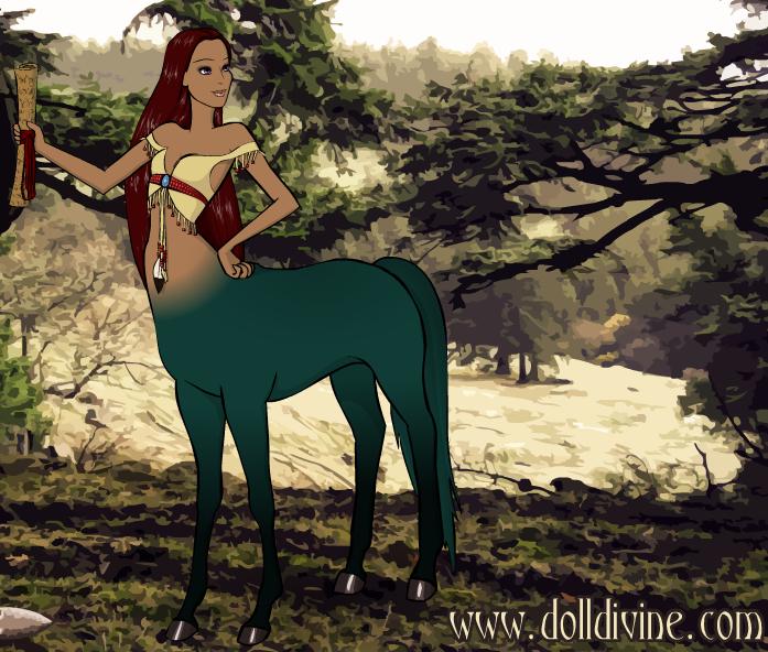 Roxette the Centaur by shewolfzoroark