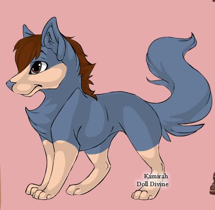 Denimtail by shewolfzoroark