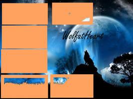 WolfatHeart's Layout by shewolfzoroark