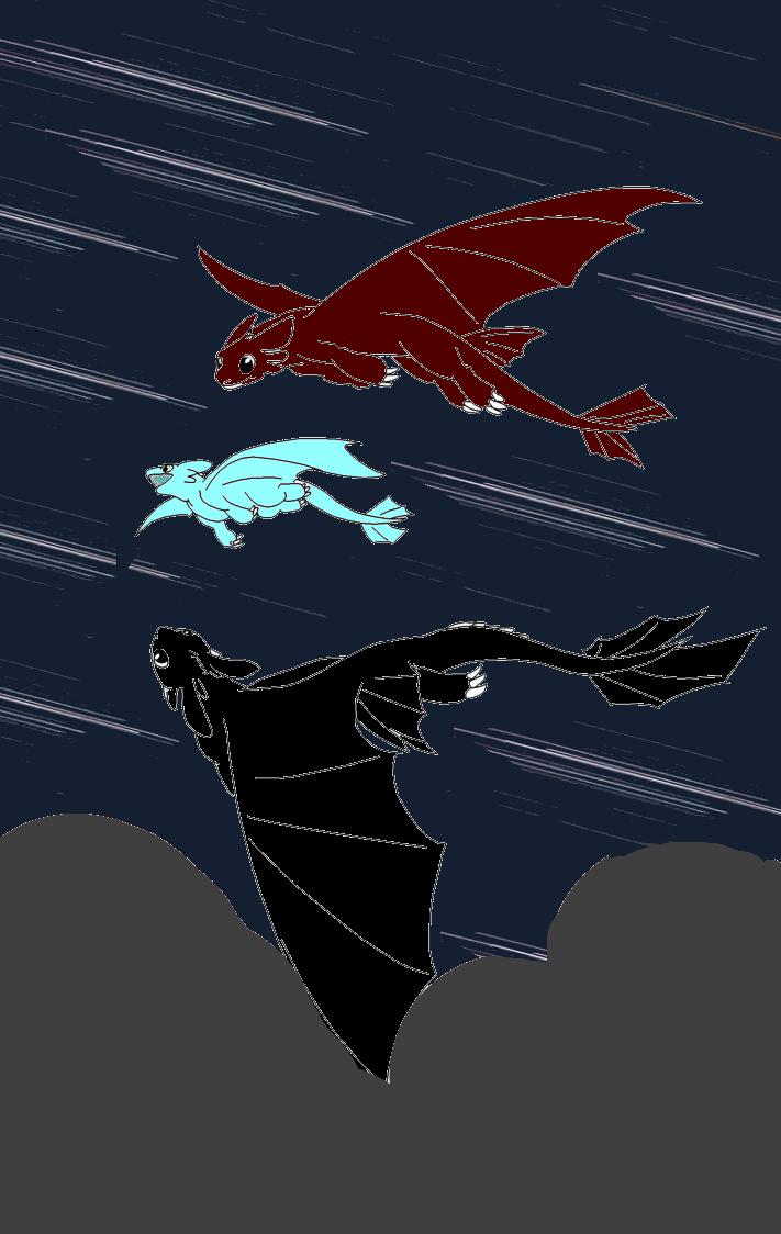 Starfall by shewolfzoroark