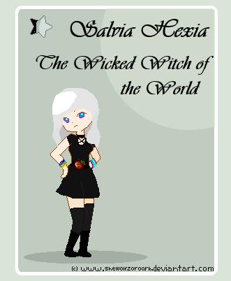 Salvia Hexia - Card by shewolfzoroark