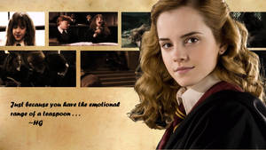 Hermione Wallpaper by shewolfzoroark