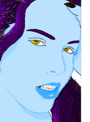 Jinsede Portrait by shewolfzoroark