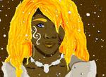 Raelis Portrait by shewolfzoroark