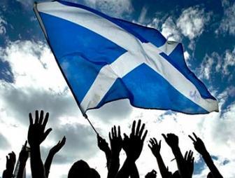 Scottish Flag by Frankhopkins12