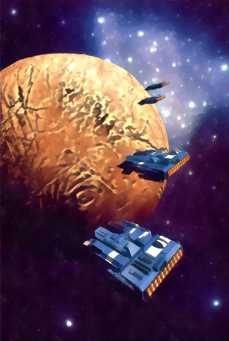 Moon Patrol by dmaland