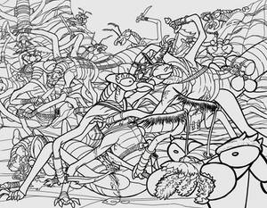 Insectoid Battle WIP 3