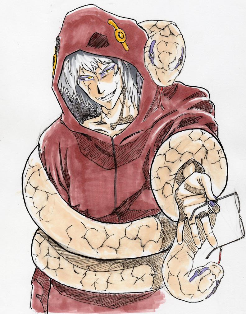 White Snake Kabuto by EKUSASxISxGOD