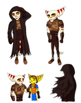 [Community Challenge] RnC Character Re-design 2 by KellyNewbie