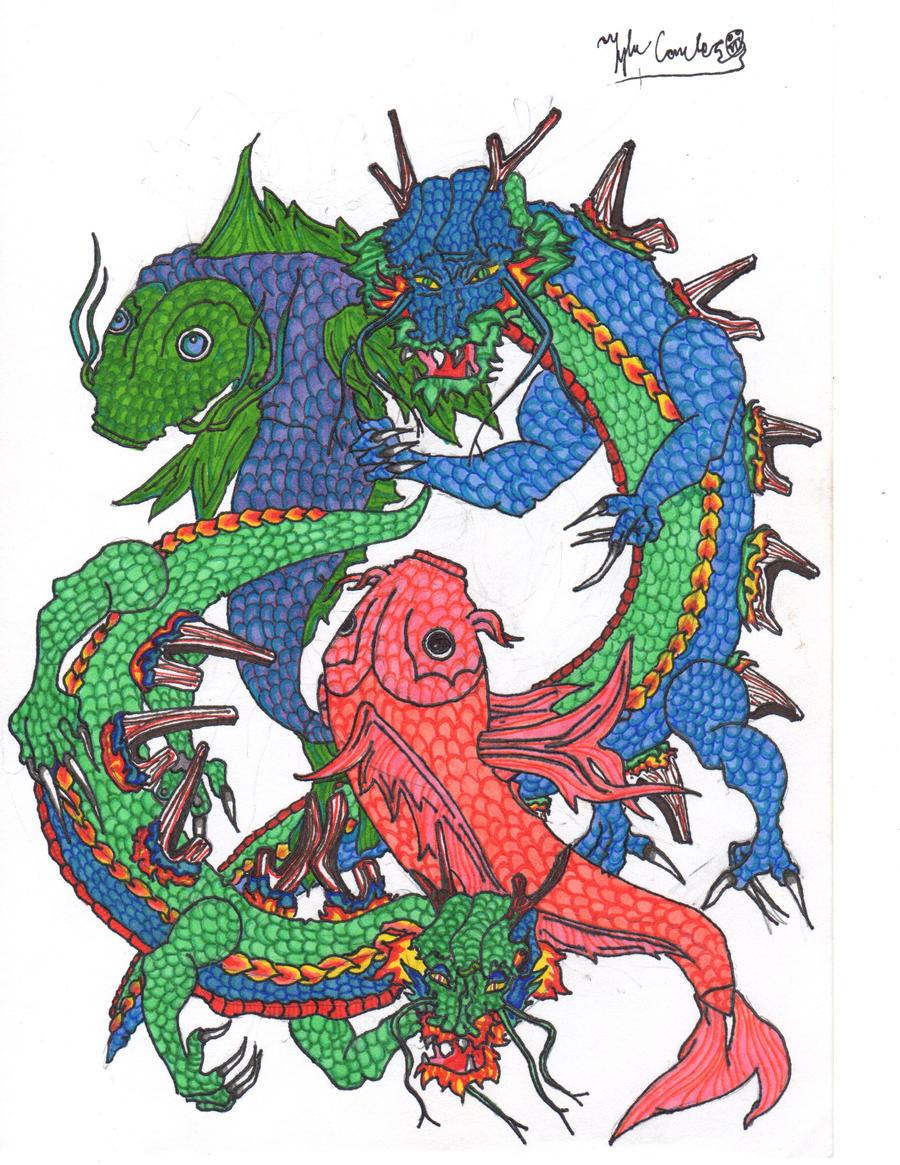 dragon coy