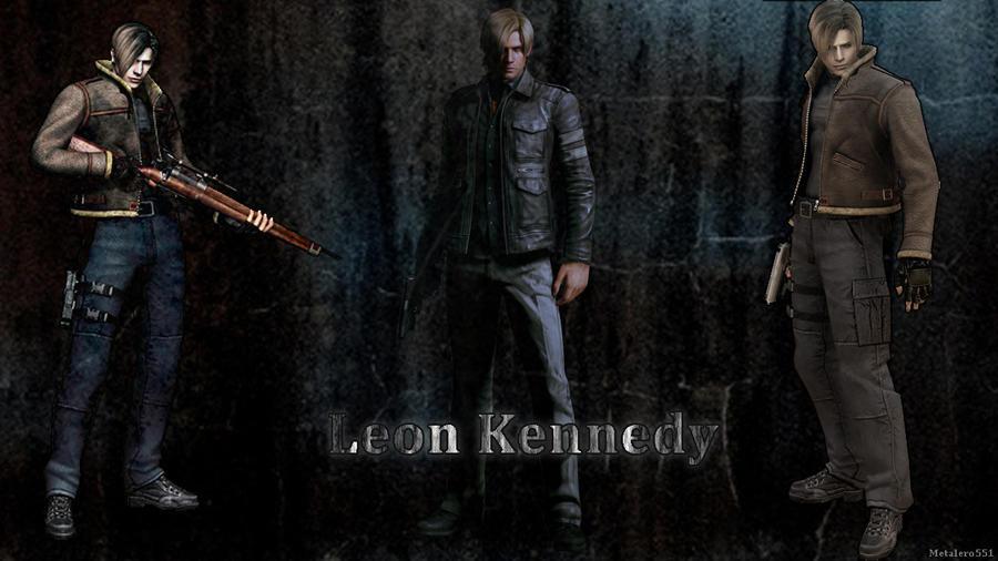 Leon Kennedy Wallpaper Ps3 By Jillvalentinexbsaa On Deviantart: Wallpaper Leon Kennedy By Metalero551 On DeviantArt