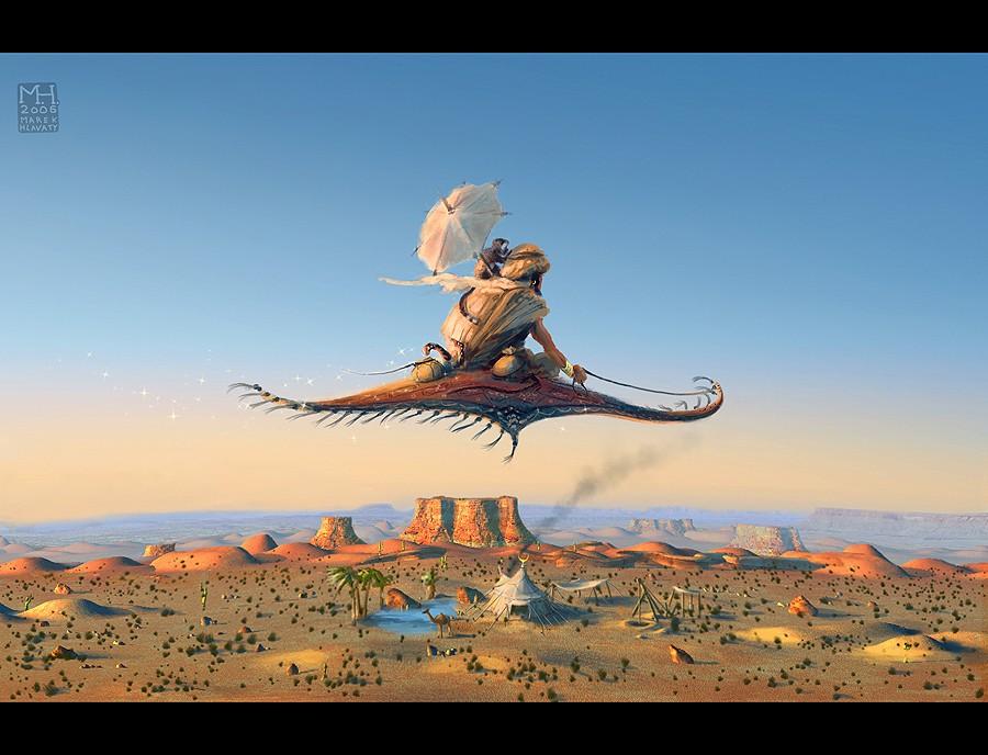 Wizard's Hideout by Prasa