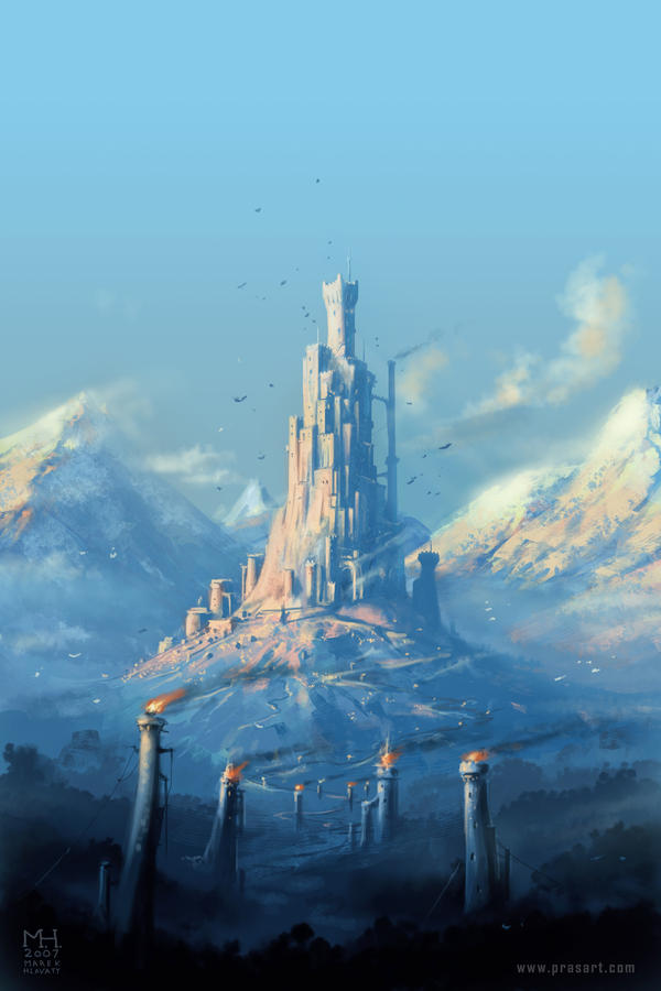 Gale; The Frozen Land Heart_of_the_Mountain_by_Prasa