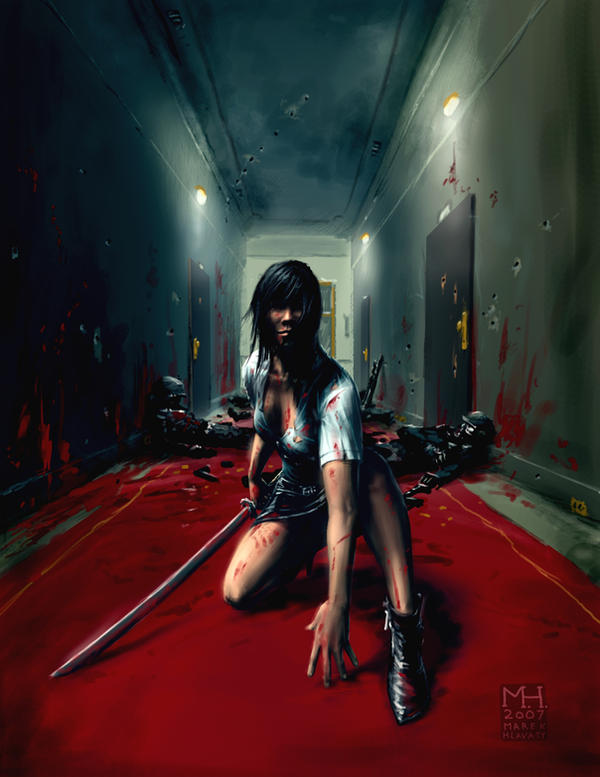 Katana Girl by Prasa