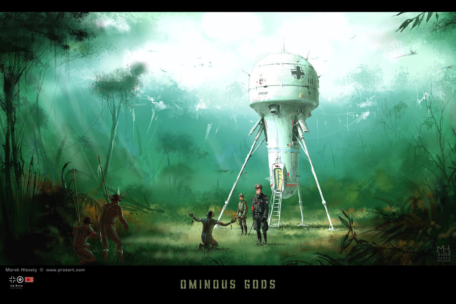 Ominous Gods by Prasa
