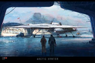 Arctic Hunter by Prasa