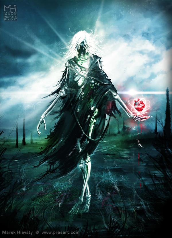 Kelemvor - God of Death and the Dead Wraith_by_Prasa