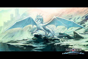 NIBOREA: Ice Dragon by Prasa