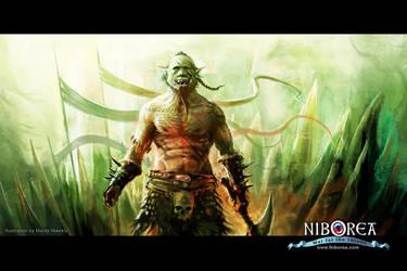 NIBOREA: Orc by Prasa